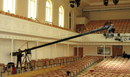 JIMMY JIB TRIANGLE Video CRANE 12 meters ( 40 ft ) 22Kg payload