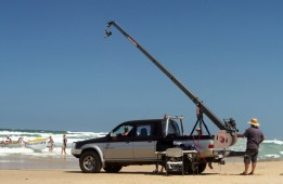 PROAIM 22ft / 6.7 m OCTAGONAL TELESCOPIC JIB CAMERA CRANE ( 25 Kg ) + Stand LW-150
