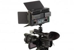FOTODIOX LED 312DS ( 312 DS ) BI-COLOUR LED LIGHT KIT + 2 X BATTERIES + CHARGER + BAG +