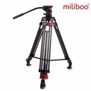 MILIBOO MTT604A VIDEO TRIPOD 170 Cm + MYT803 FLUID HEAD 8 KG