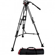 MANFROTTO 504HD FLUID HEAD ( 7.5 Kg ) + NT-280 HEAVY DUTY TRIPOD 182 Cm