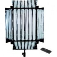 NG-330AW COOL LIGHT Full Dimmer Radio Remote + 4 Barndoors + 6 Osram Dulux 954 + Yoke + Softbox