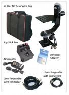 PROAIM Jr. PAN TILT HEAD + JOYSTICK CONTROLLER + BAG