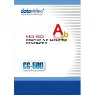CG-500 HD/SD Graphics & Character Generator