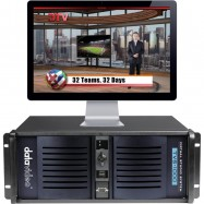 TVS-1000 Trackless Virtual Studio System - 1 x HDMI input / output (no Tally control)